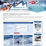 Portail de réservation d'herbegement au ski